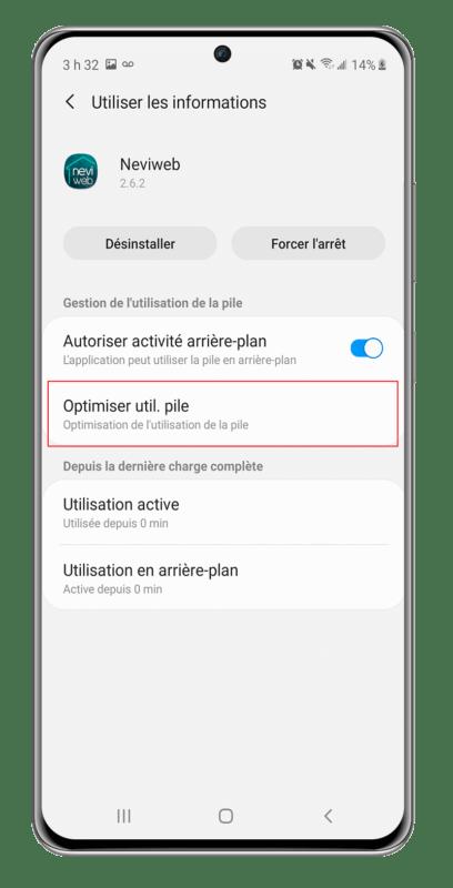 Géorepérage Android 11